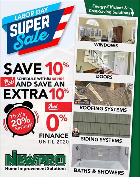 Take Advantage of These Savings!
