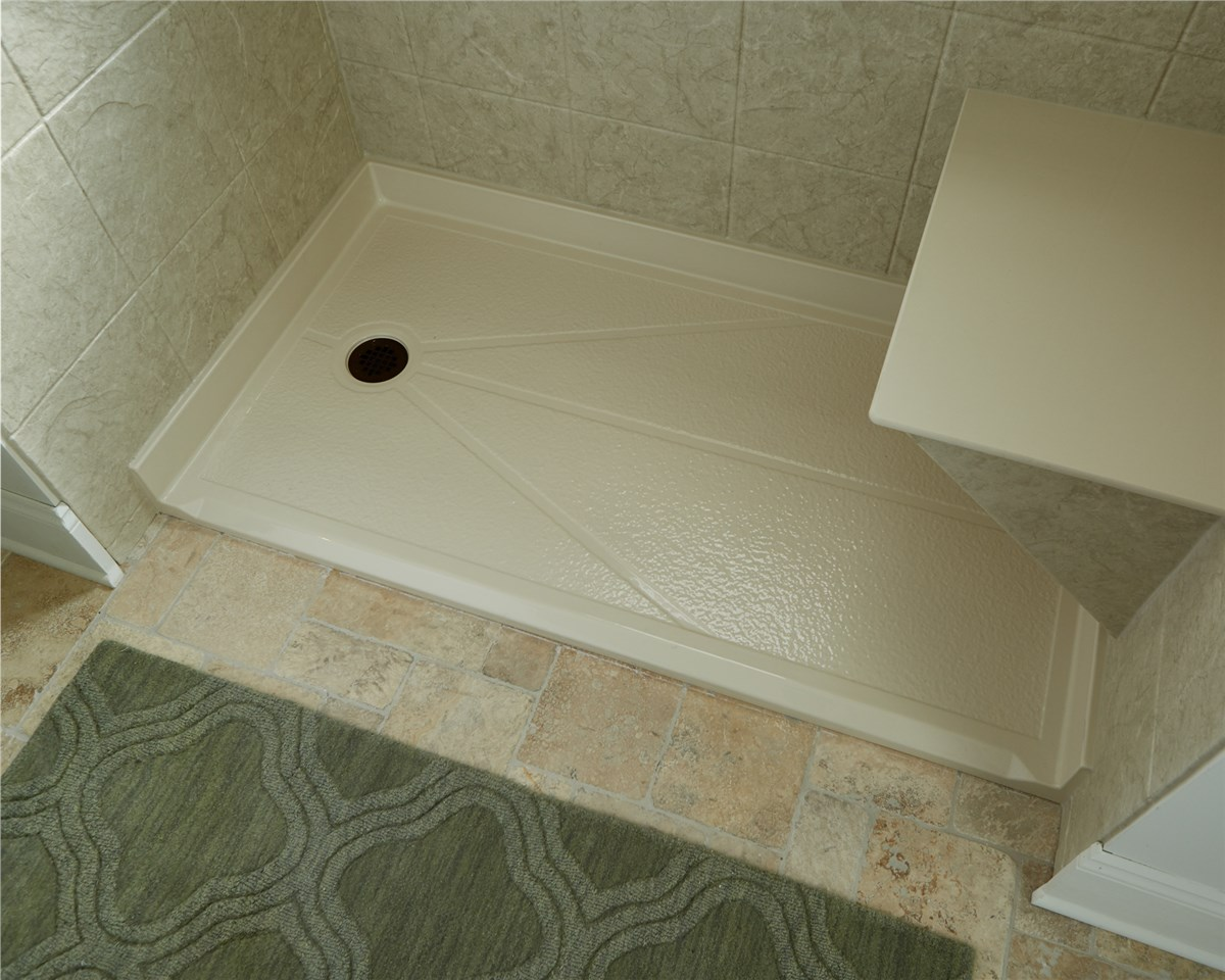 New england roll in showers boston barrier free showers - Bath wraps bathroom remodeling reviews ...