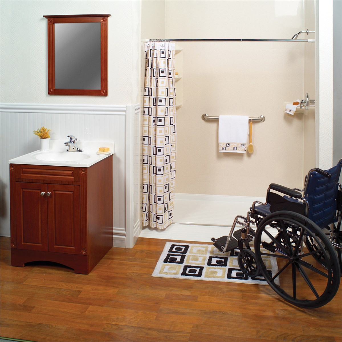 New England Roll-in Showers | Boston Barrier Free Showers | NEWPRO