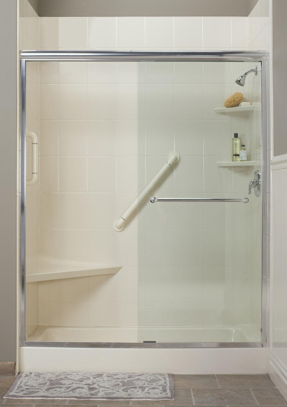 New england tub to shower conversion boston bath - Bathroom remodel tub to shower conversion ...
