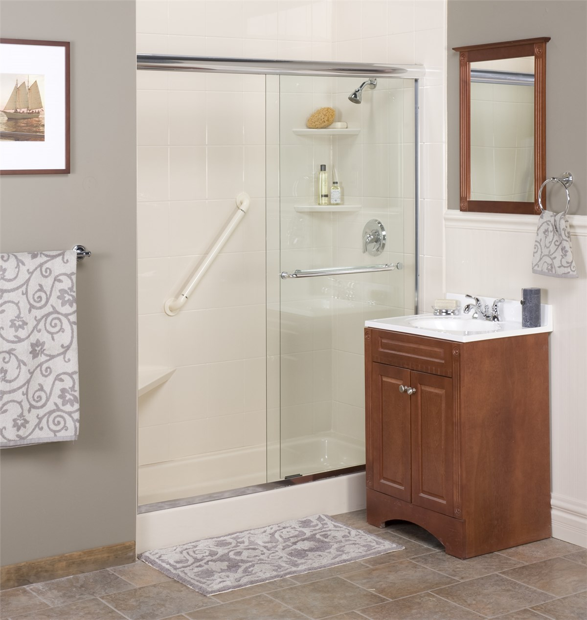 New England Tub To Shower Conversion