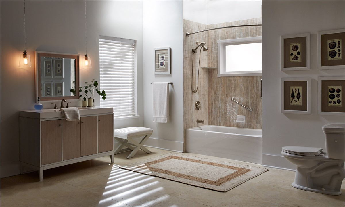 Nice New England Bathroom Remodeling | Boston Bathroom Remodeler | NEWPRO