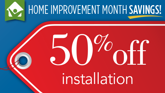 50% Off Infinity from Marvin Window Installation