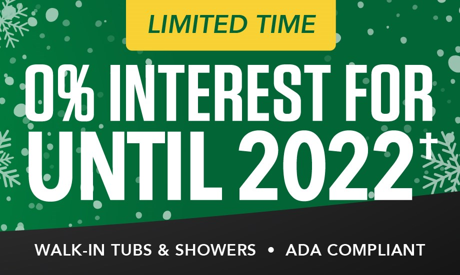 NEW YEAR, EXTENDED SAVINGS: 0% Financing Until 2022!