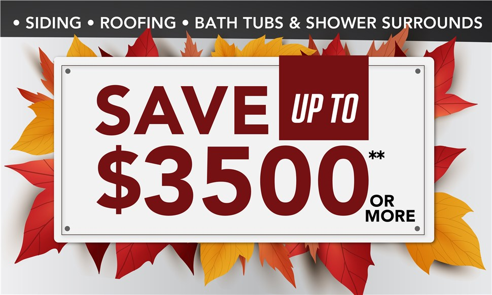 Save up to $3500 or more!