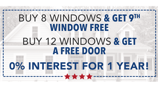 Buy 8 and Get 1 Free or Buy 12 and Get a Free Door