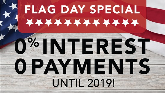 Save 20% On Your Project PLUS 0 Payments and Interest until 2019!
