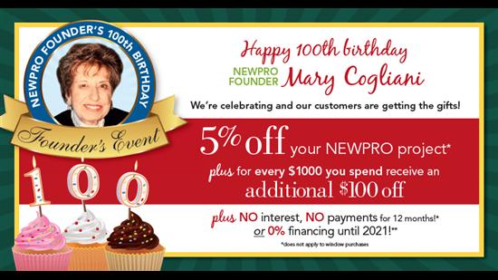 100th Birthday Promotion