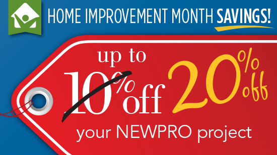 Now Get 20% Off Your Home Improvement