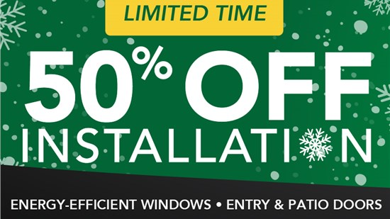 New Year, Extended Savings: 50% Off Installation
