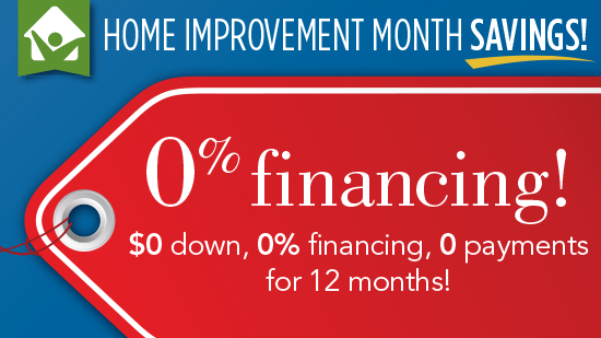 Wallet-Friendly 0% Financing Options
