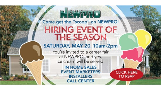 You Are Invited to the Hiring Event of the Season