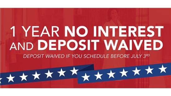 1 Year No Interest + Waived Deposit - 4 Ways To Save On The 4th