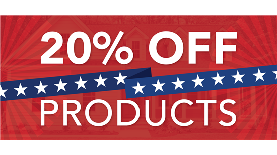20% OFF PRODUCTS