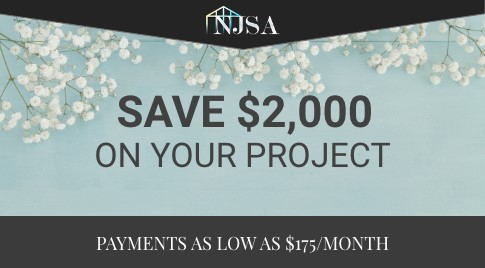Spring Special - Save $2,000 On Your Project