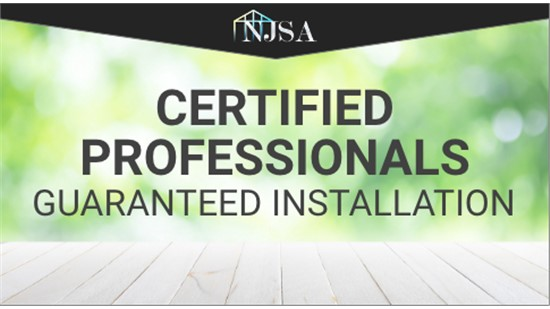 Certified Professionals with Guaranteed Installation