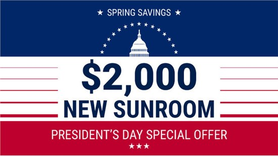 President's Day Special Offer! $2,000 Off Your Project!