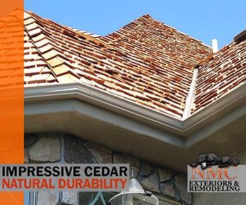 NMC Installs Beautiful Cedar Roofs