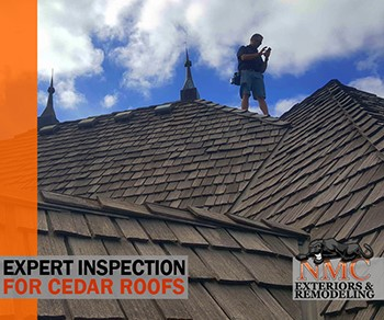 All Exquisite Cedar Roofs Begin with a NMC Inspection