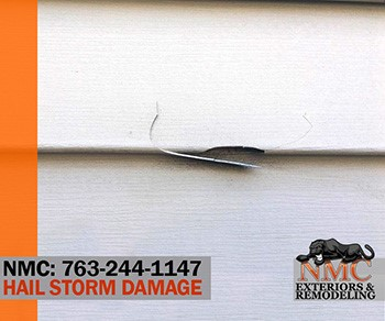 NMC can serve your restoration needs after Hail Damage