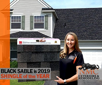'Black Sable' Wins Shingle Color for 2019; NMC Installs this Popular Asphalt Roof as a Platinum Preferred Contractor