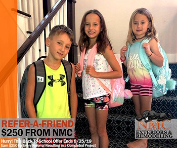 Earn $250! NMC's Refer-A-Friend is Super-Sized Until August 25, 2019