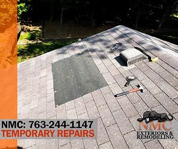 Interim Leak Prevention Roof Patch