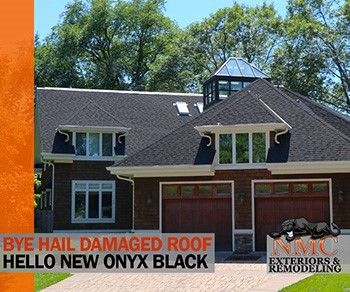 New Onyx Black Shingle Roof Replacement