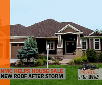 Ask NMC for a House Sale Prep Inspection: Roofs, Siding and Storm Damage Claims