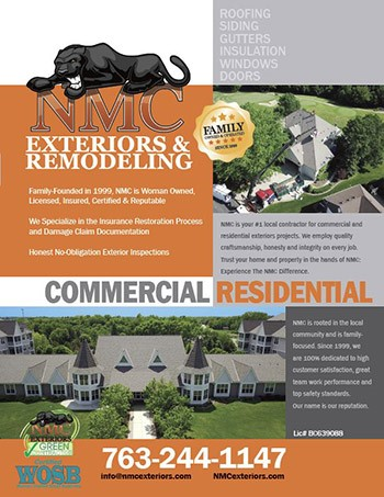 NMC Exteriors Details Why We're a Trusted Roofing GC: 20 Years, Woman-Owned, Top-Rated...