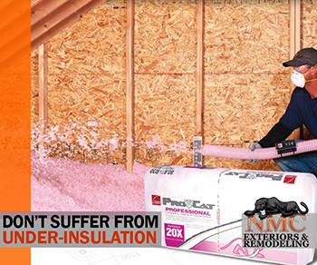 "Attic Insulation should be at R-60 or 20"" in Minnesota"