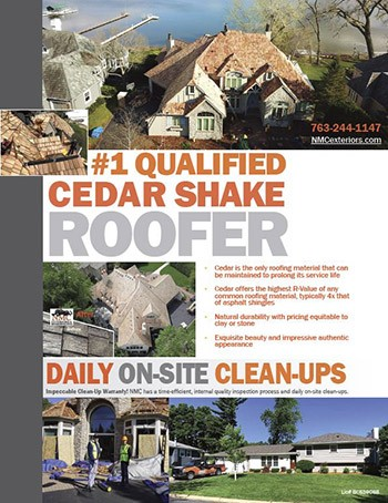 NMC, Your Qualified Cedar Shake Roofing Contractor