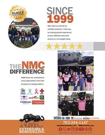 NMC Celebrates 20 Years in Business with 4.8/5 Google Rating