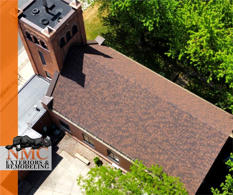 Roof Replacement Project on the St. Pauls Lutheran Church in Hanover, Minnesota