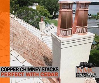 NMC Installs Cedar Roof Systems Professionally