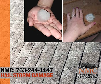 Large Hailstones Hit Delano MN on July 15th; NMC is Ready to Assess with Honesty