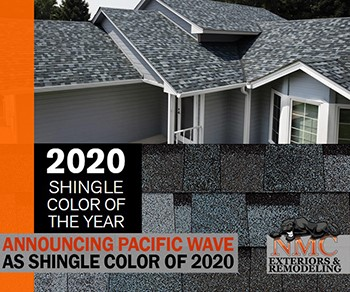 NMC Expertly Installs the Shingle Color of the Year for 2020: Pacific Wave
