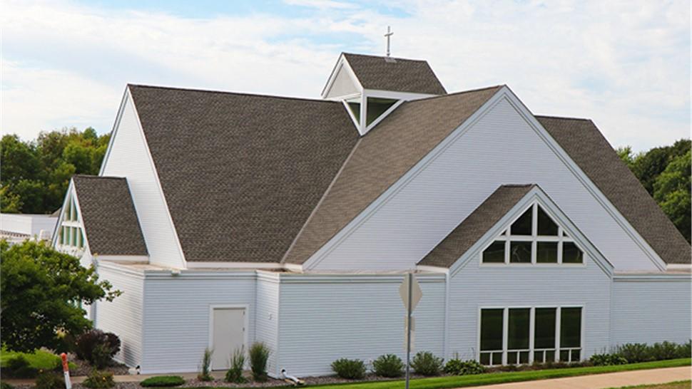 Church in Maple Grove updates their siding