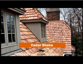 Maple Grove estate owners selected NMC to install their New Cedar Shake Roofing