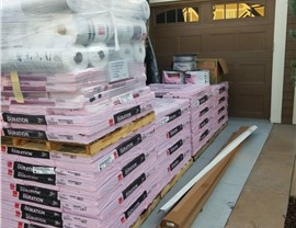 NMC delivers neatly stacked material orders to our work-sites