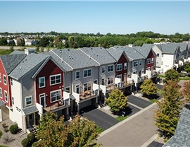Roof Replacement for the High Grove Condominiums in Owens Corning Duration Onyx Black