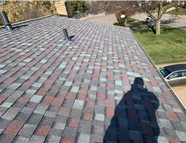 Colonial Slate Shingles in Burnsville by NMC after the July 18th hail caused damage