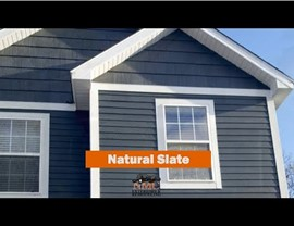 NMC Installs new Natural Slate Siding (Vinyl & LP Smartside) in Maple Grove