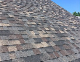 Final Roof Results after Quality Inspection by NMC in Robbinsdale; Shown: Designer Black Sable
