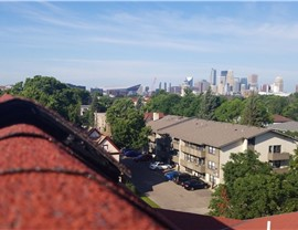 NMC's view of skyline during Multi-Family Inspection