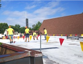 New Flat Roof replacement for Ebenezer Oromo Evangelical Church by NMC