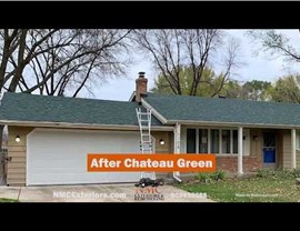 Duration Chateau Green in Burnsville After the July 18, 2019 hail storm