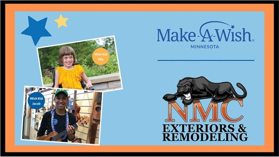 We Are Donating $100 From Every Job Completed To Make A Wish!