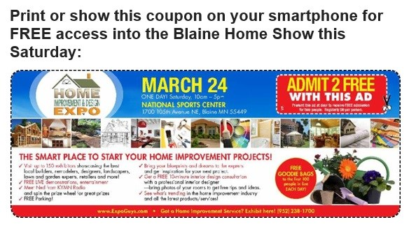 Join Us at the Blaine Spring Home Improvement & Design Expo