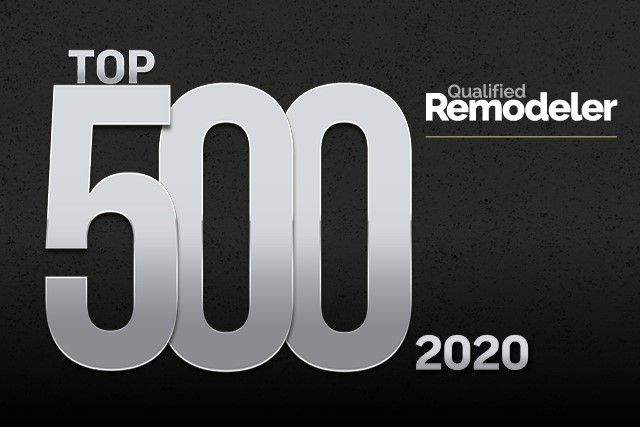Qualified Remodeler Has Ranked Us Among The Top 500 Remodelers!